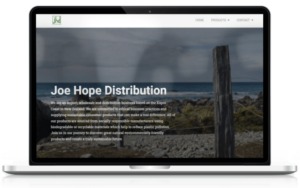 JHD website design
