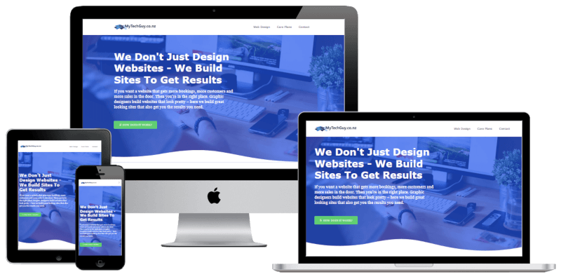 Web Designer For Small Business Mytechguy Co Nz
